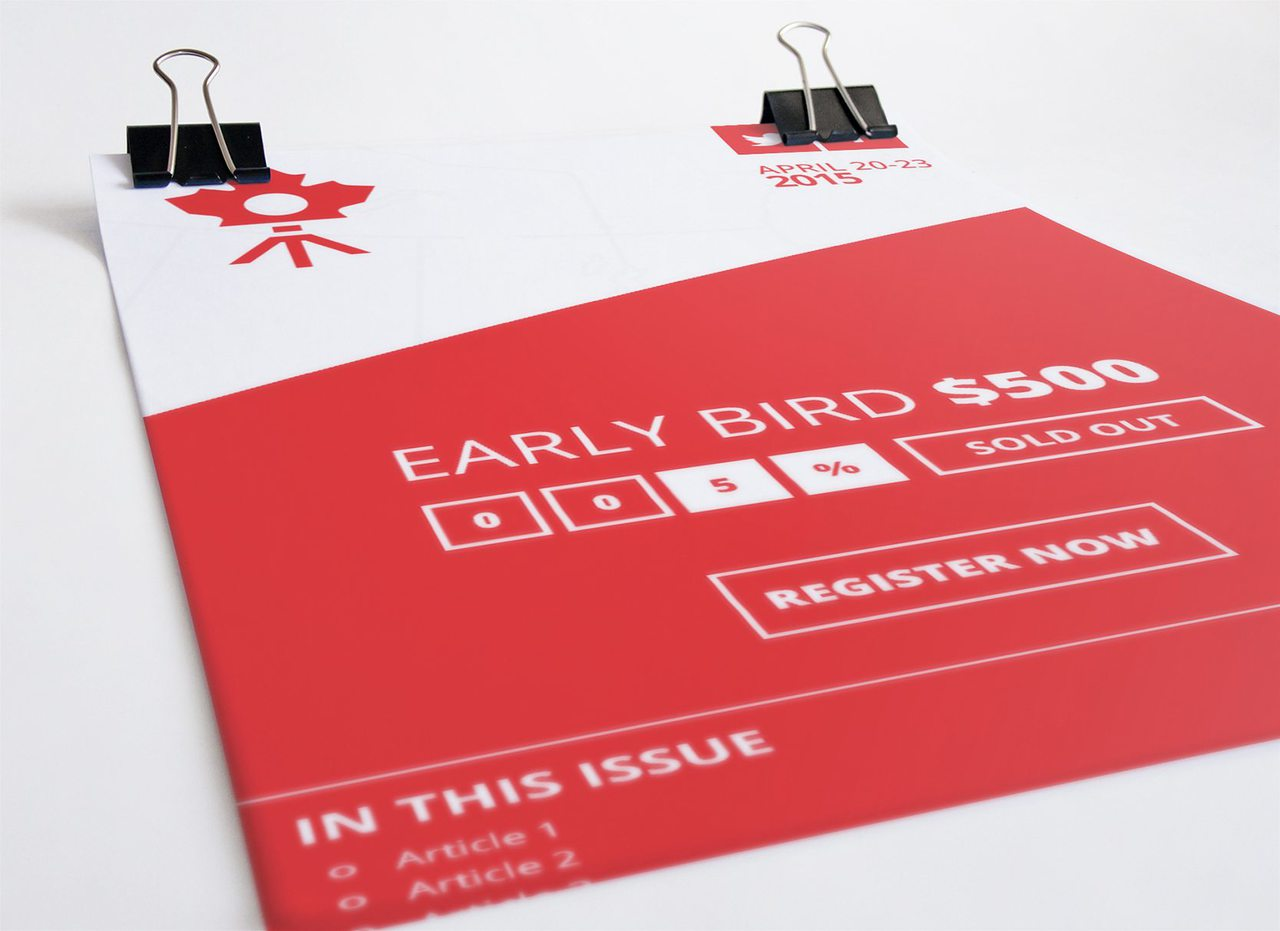 Creative Culture Events - Newsletter Design