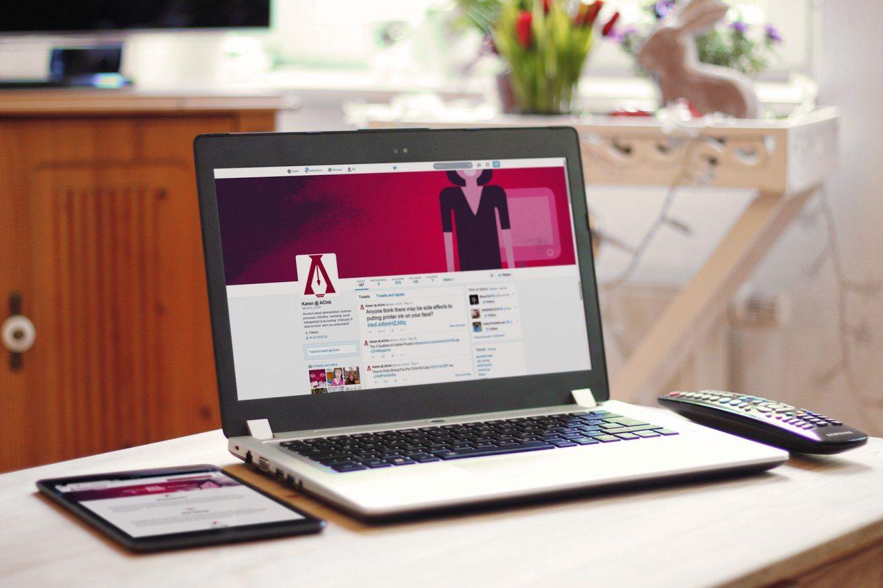 ACink Social Media Design Calgary Twitter