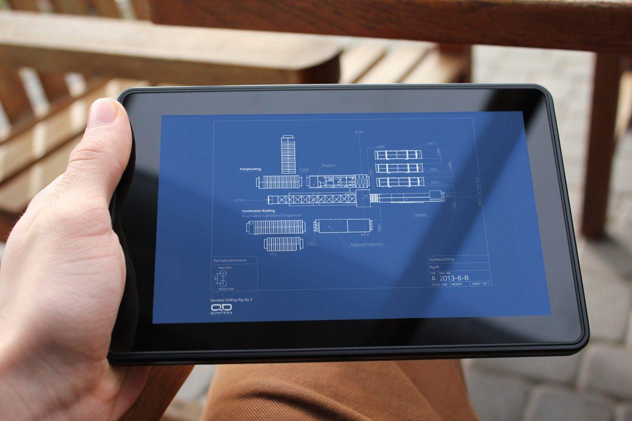 Quintera Drilling Tablet Design