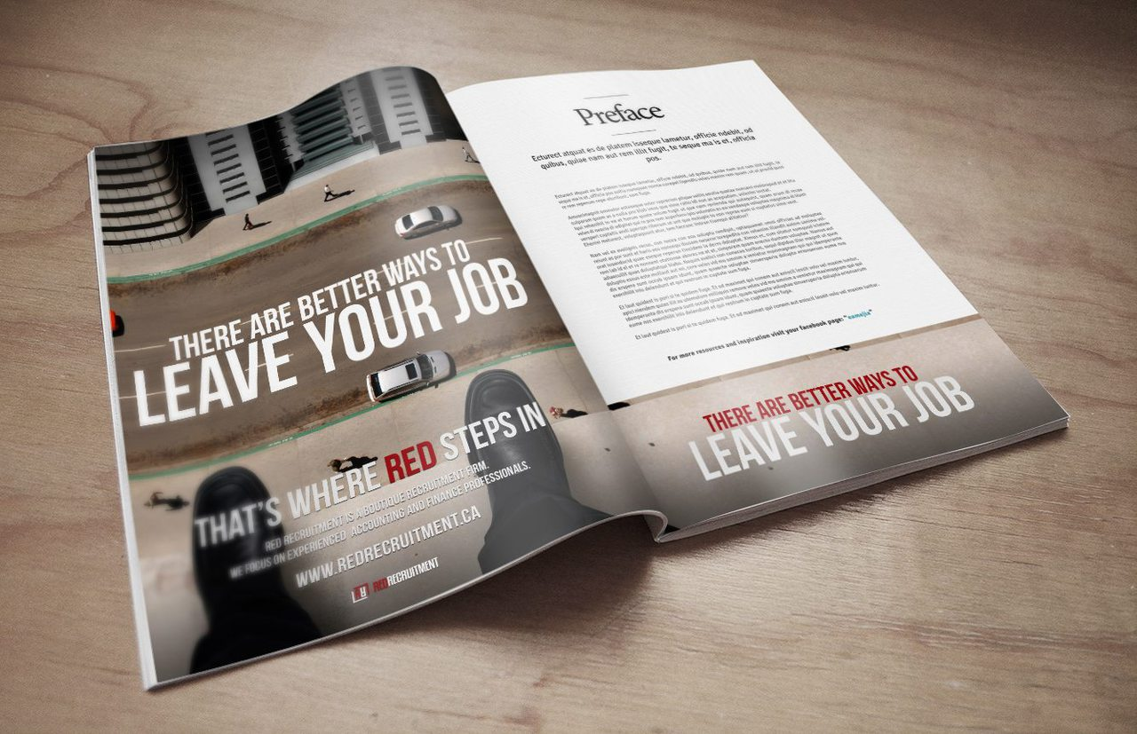 Red Recruitment - Calgary Print Advertising