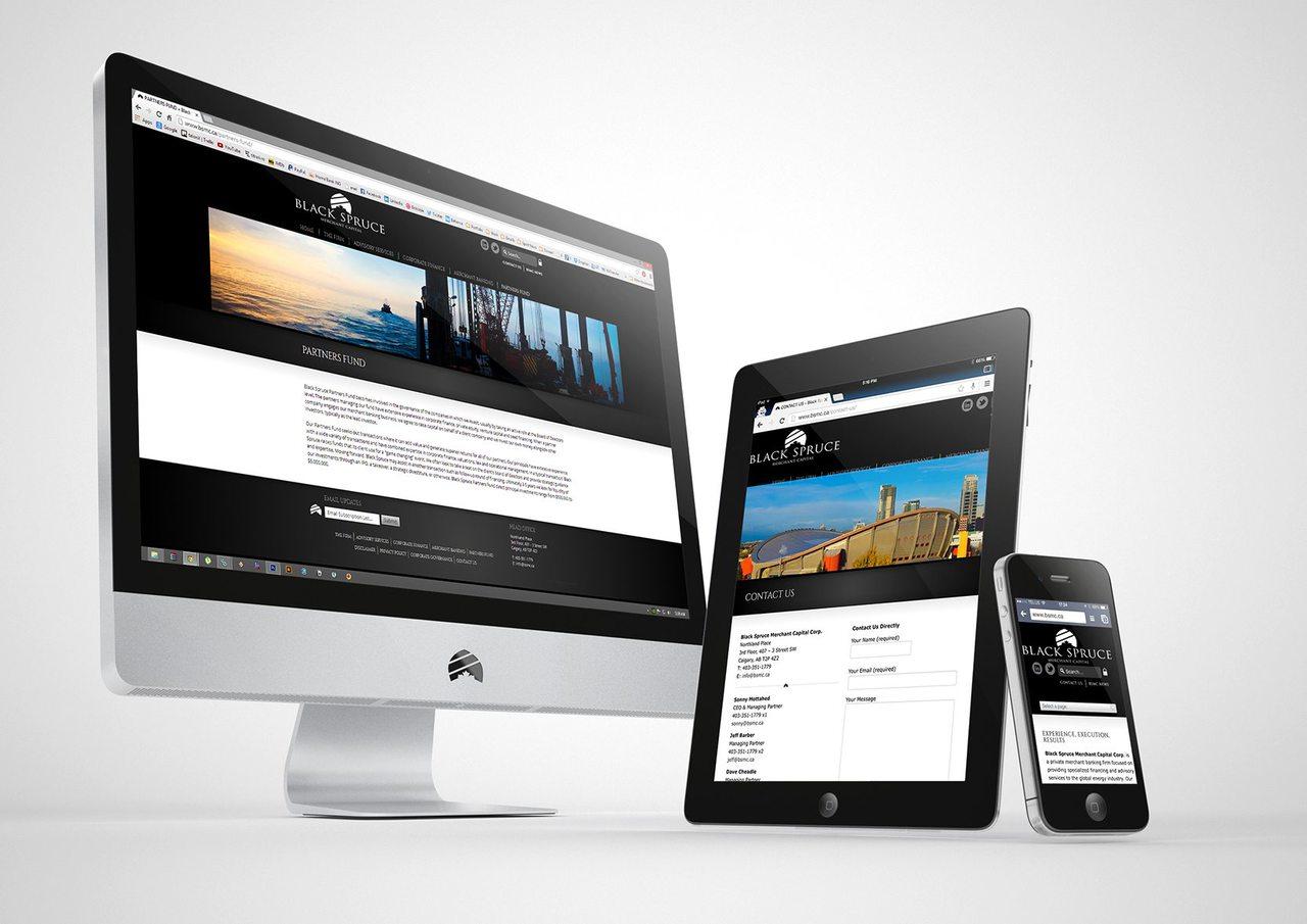 BSMC Calgary Web Design