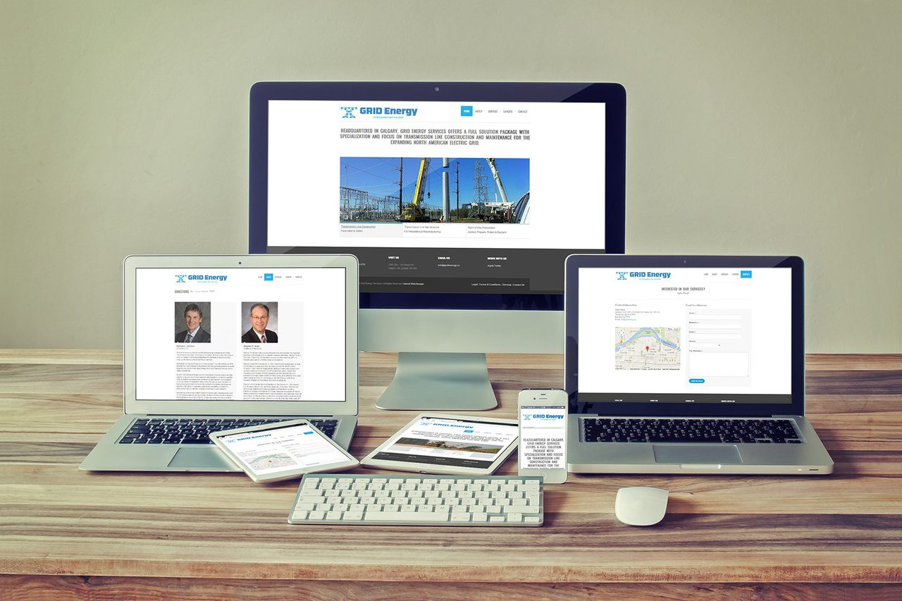 Grid Energy Web Design Calgary