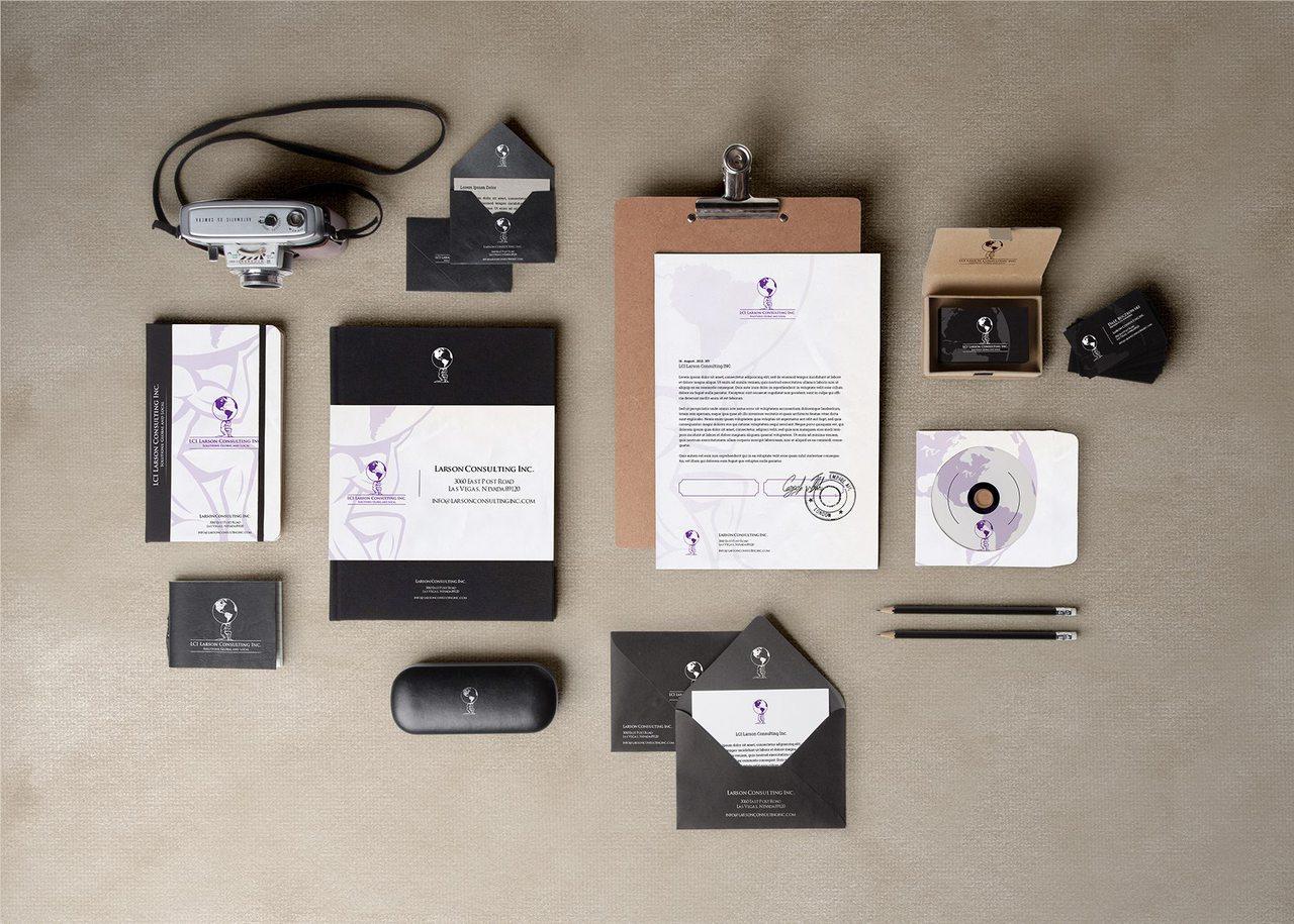 Larson Consulting Branding Design