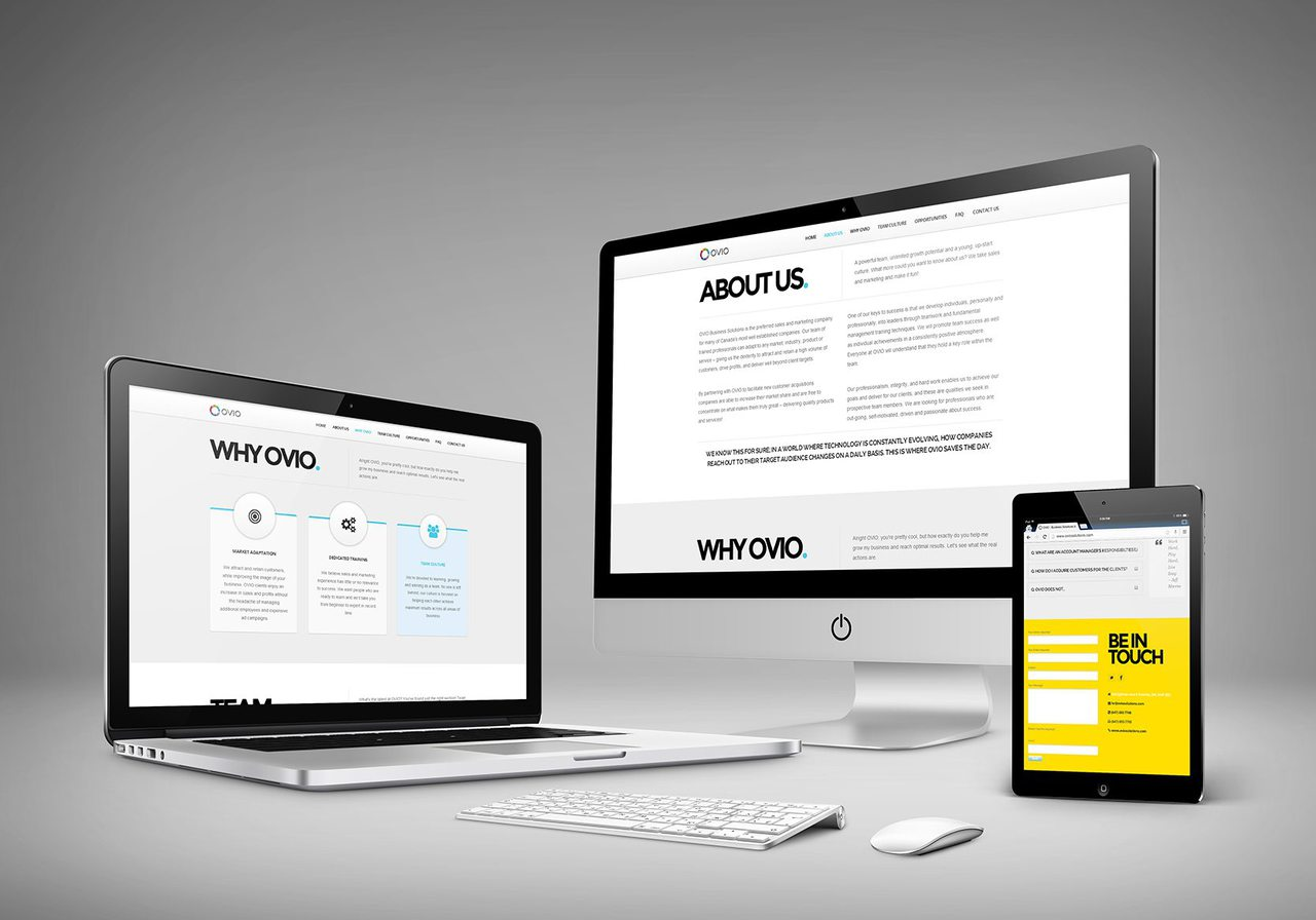 OVIO Toronto Web Design