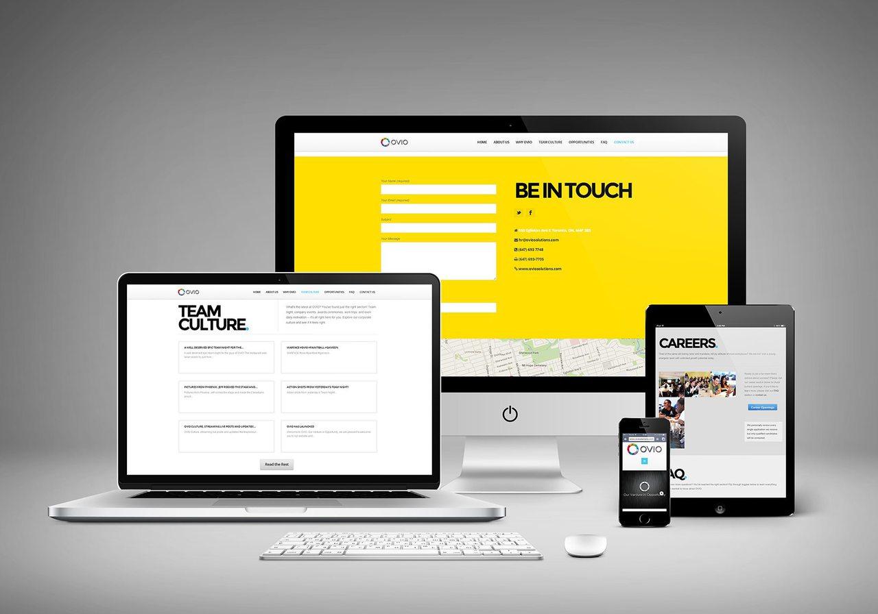 OVIO Web Design Toronto