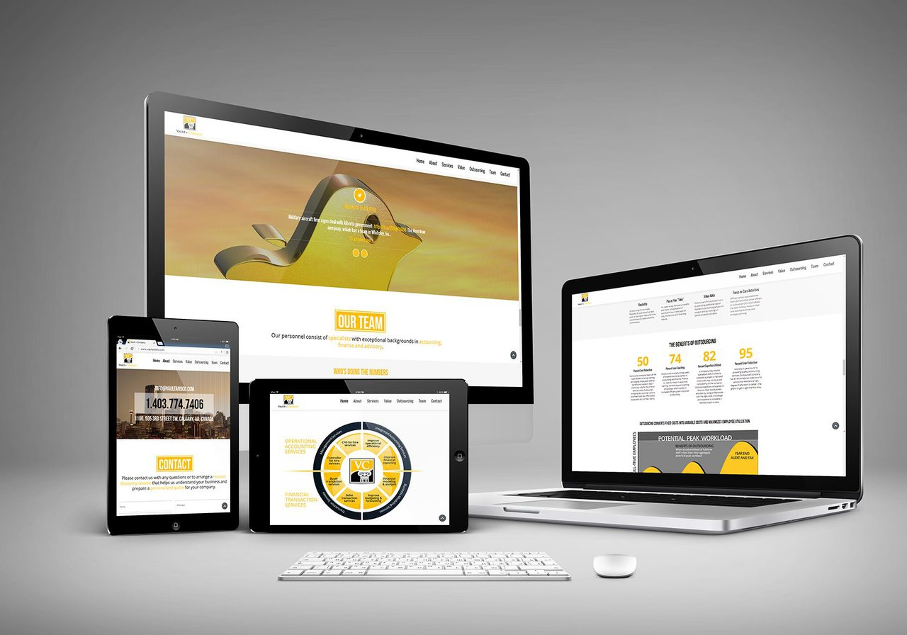 Vault and Co Calgary Web Design