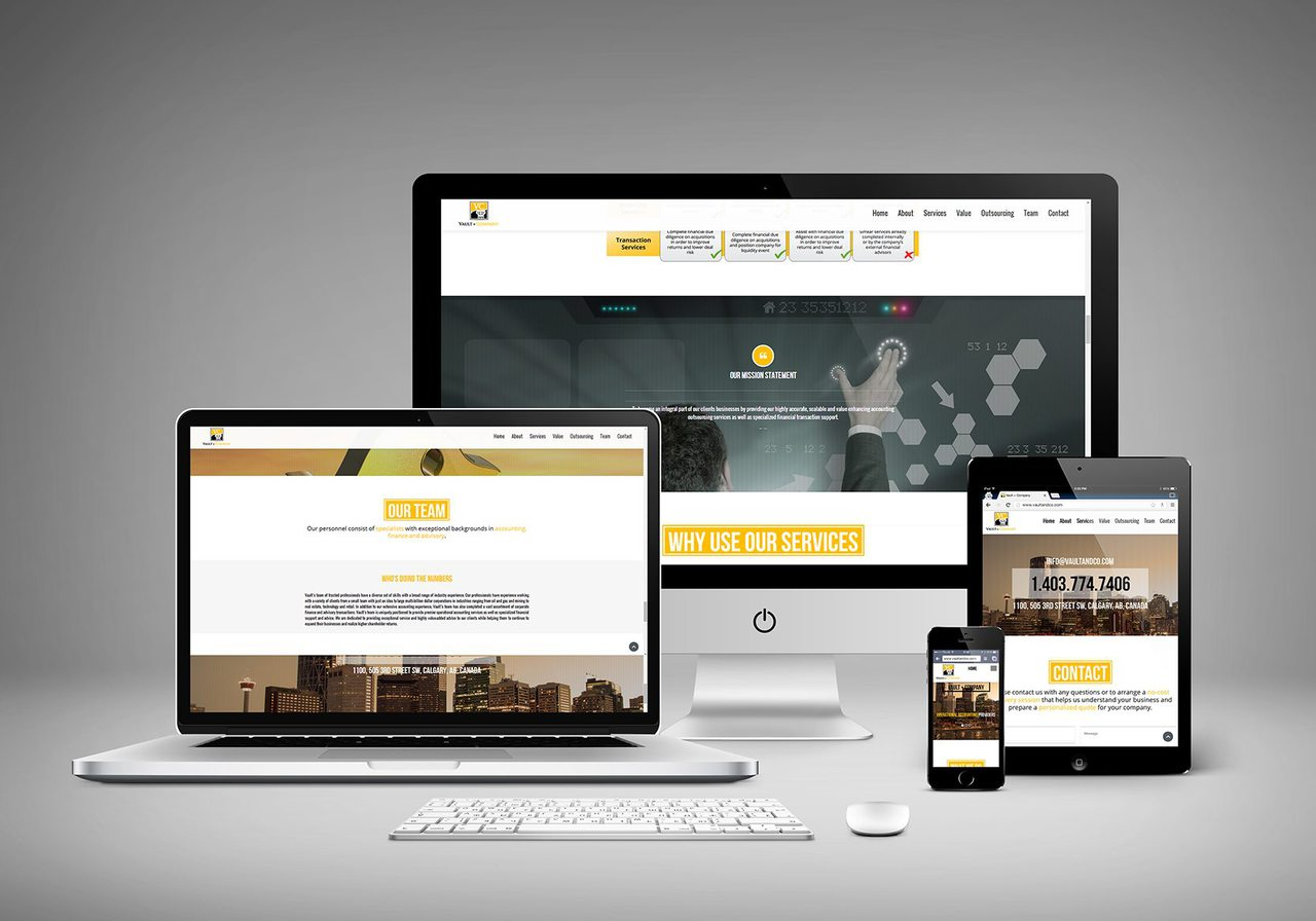 Vault and Co Web Design Calgary