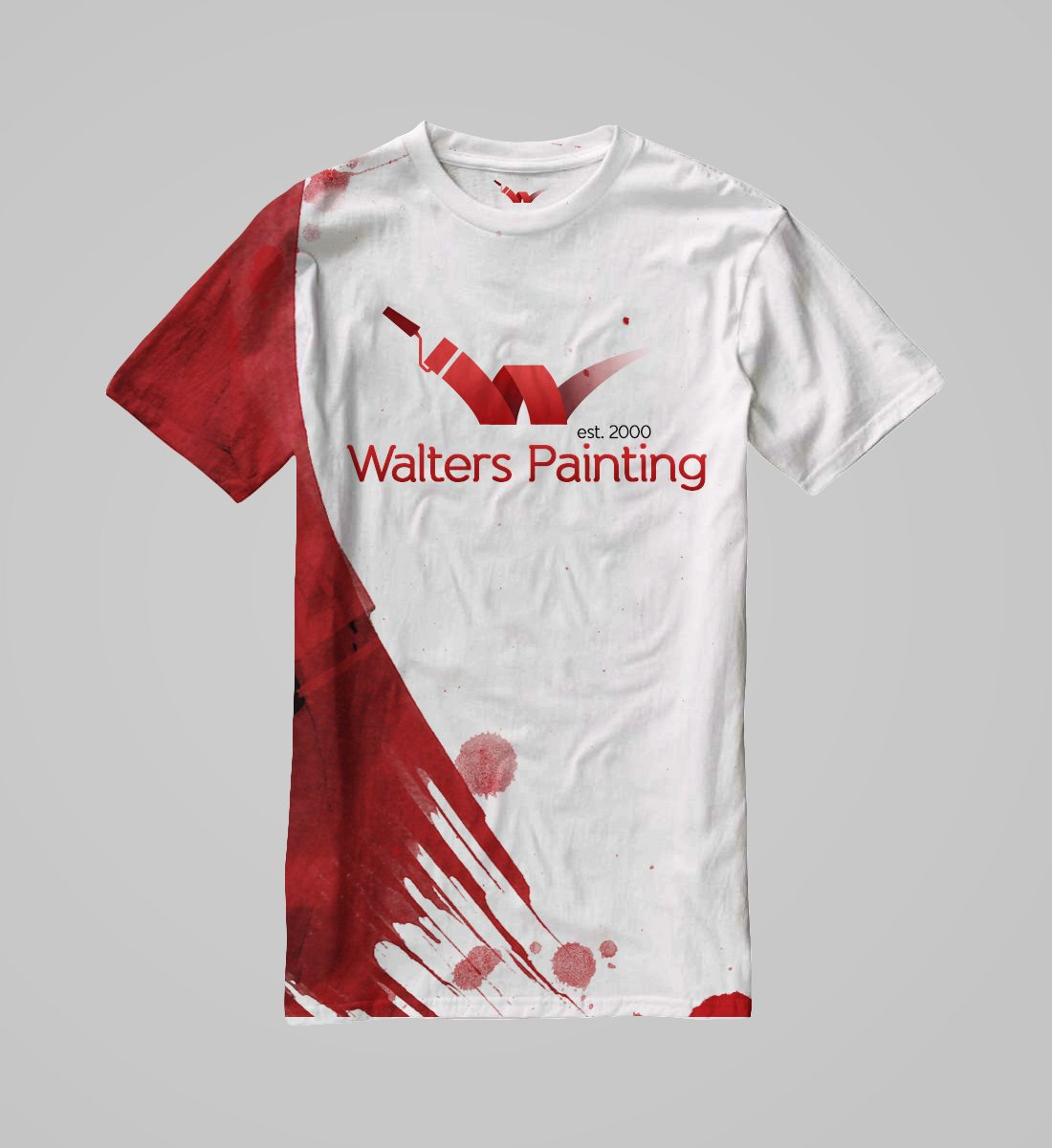 Walters Painting Branded T Shirt Design