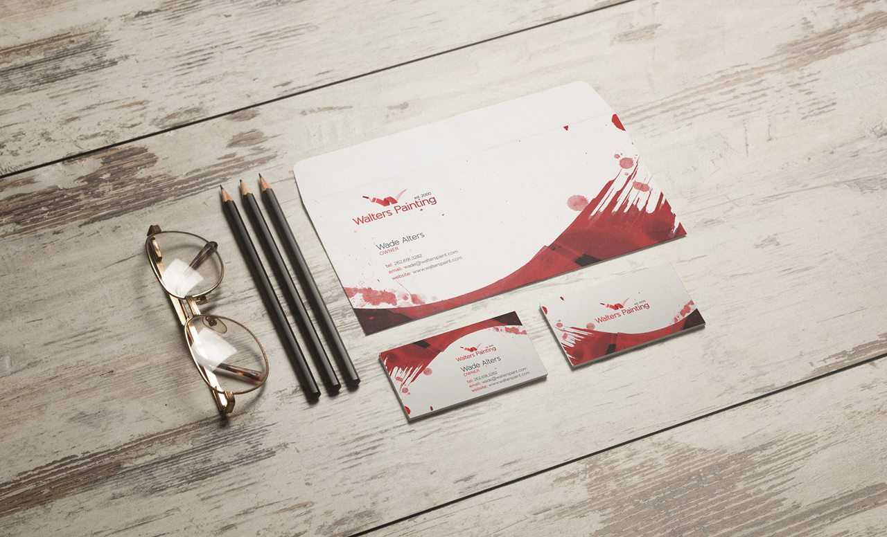 Walters Painting Graphic Branding