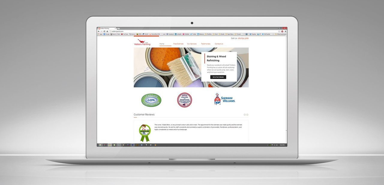 Walters Painting Web Design