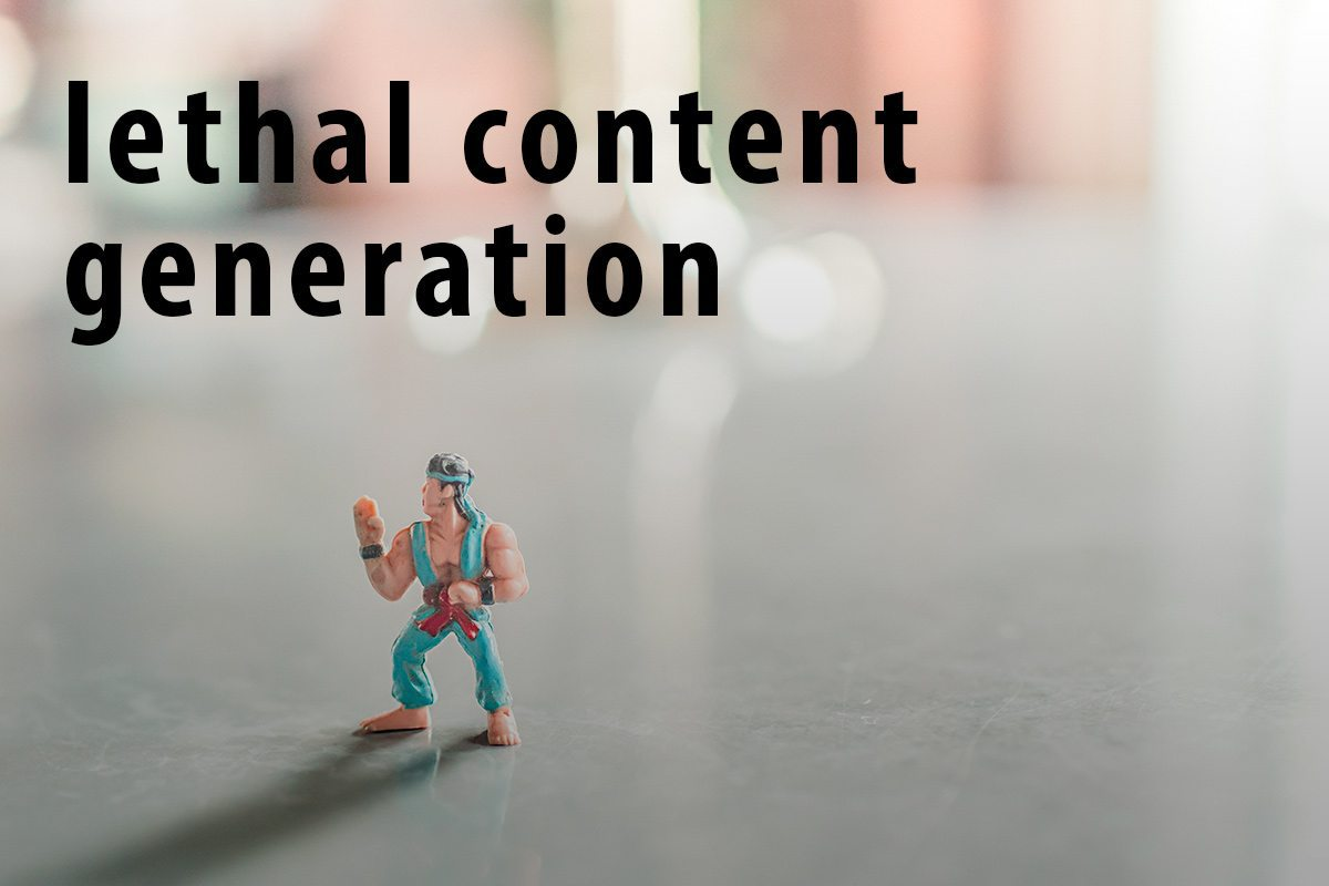 Lethal-Web-Content-Generation