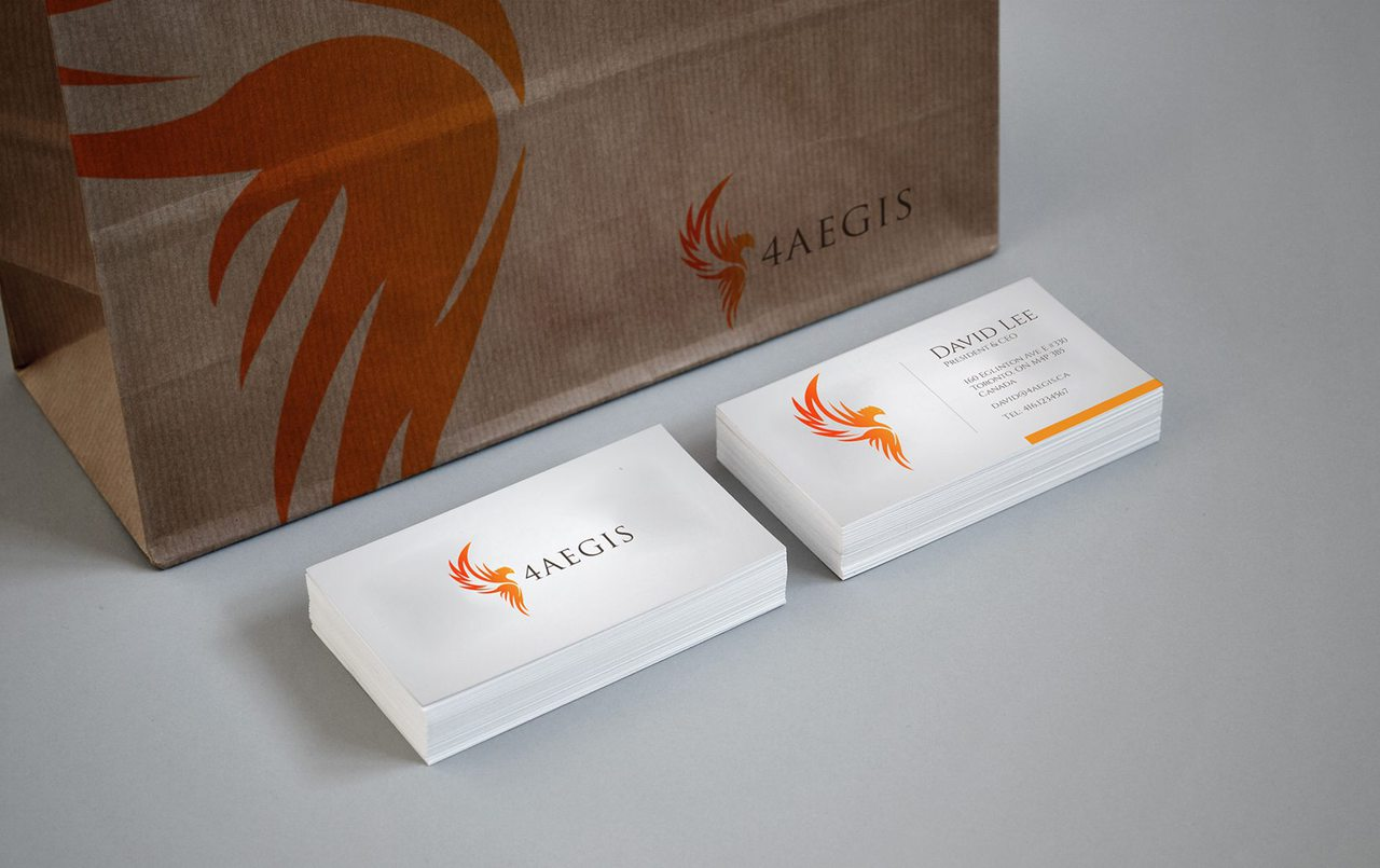 4AEGIS Branding Design