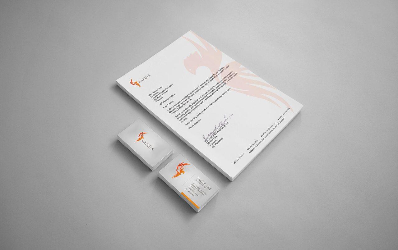 4AEGIS Calgary Graphic Design
