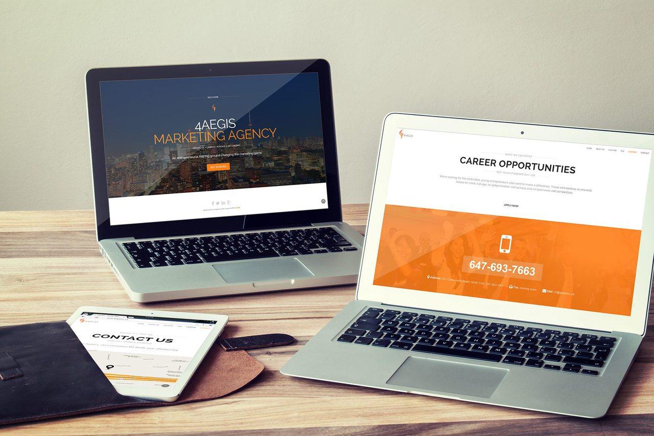 4AEGIS - Calgary Web Design