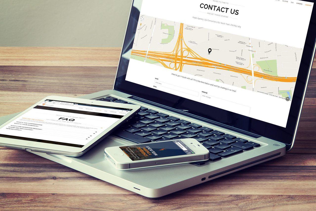 4AEGIS - Toronto Web Design