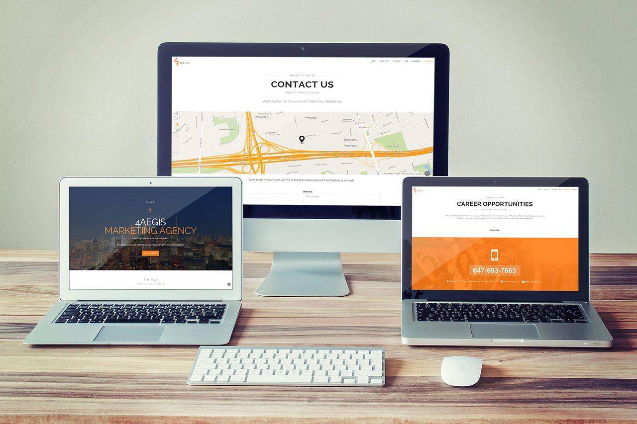 4AEGIS - Web Design Toronto