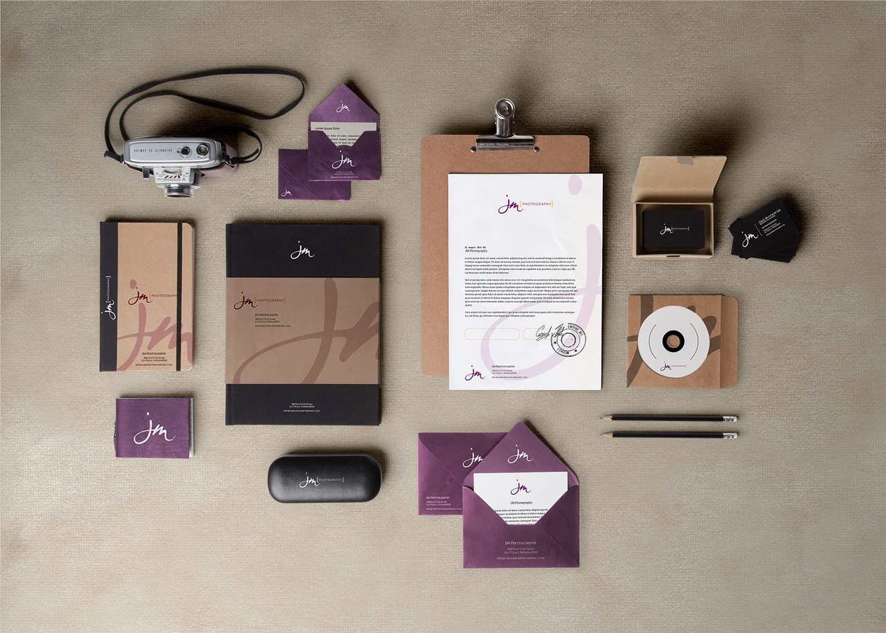 Calgary Branding Design - JM Photography