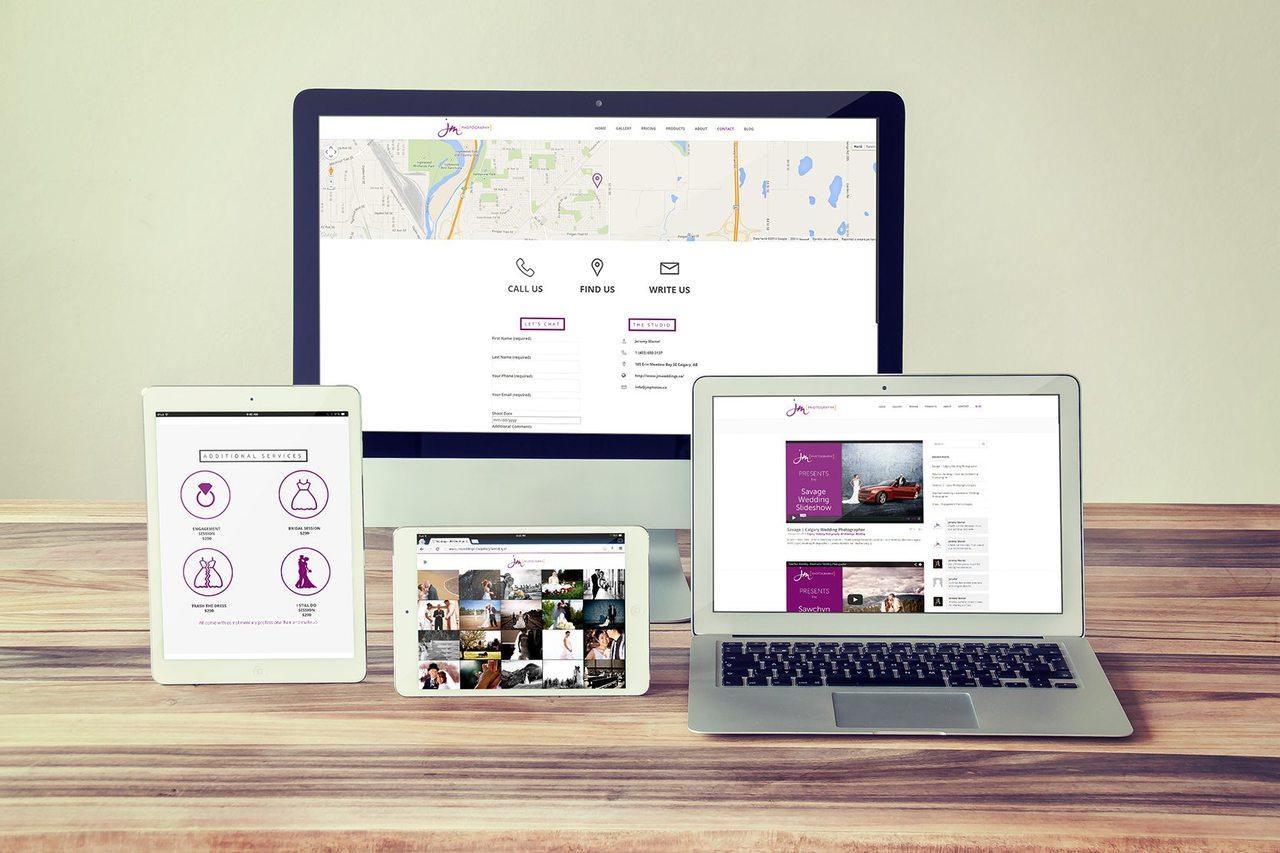 Calgary Web Development - JM Photography