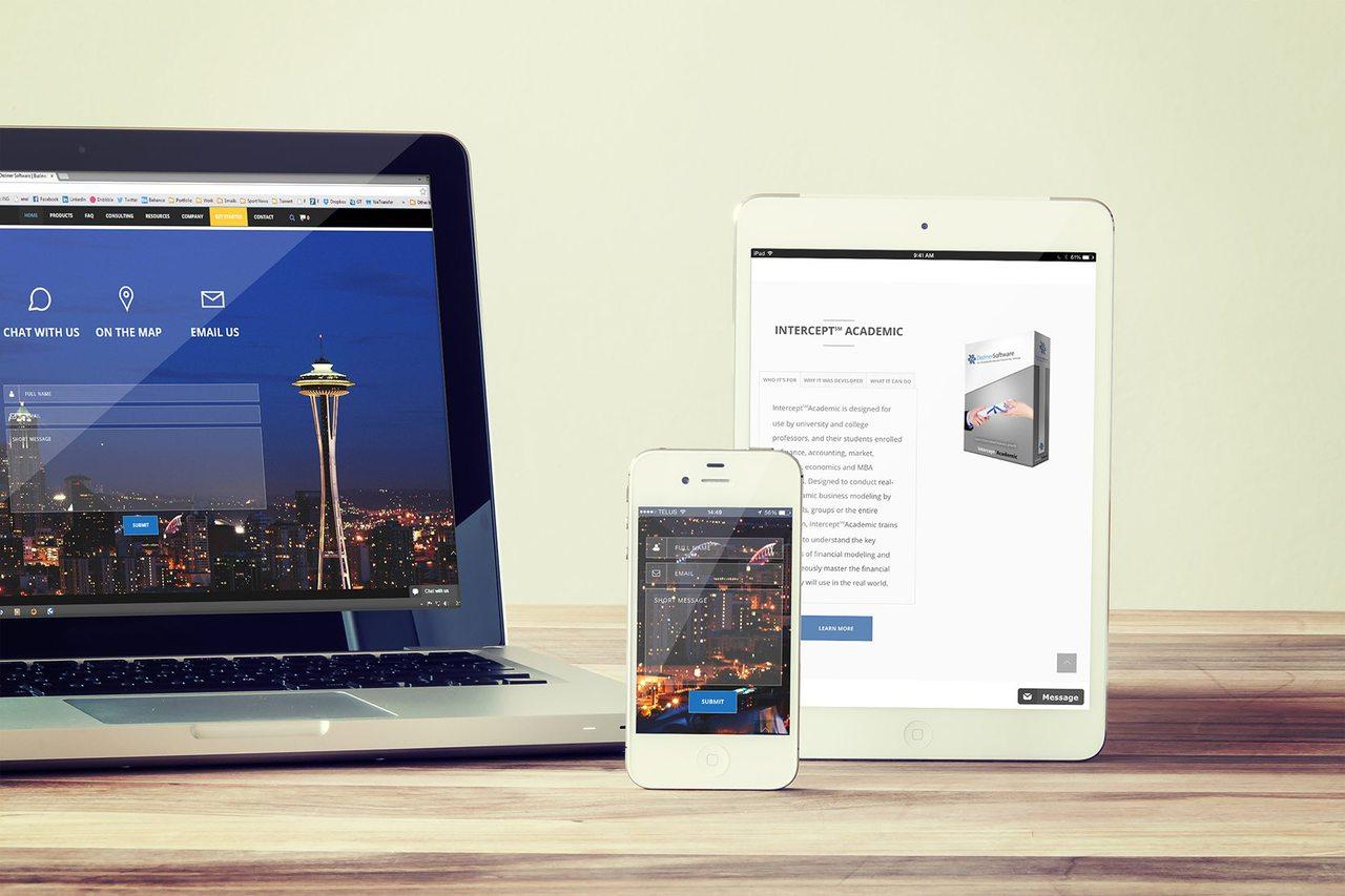 Chicago Web Development - Deziner Software