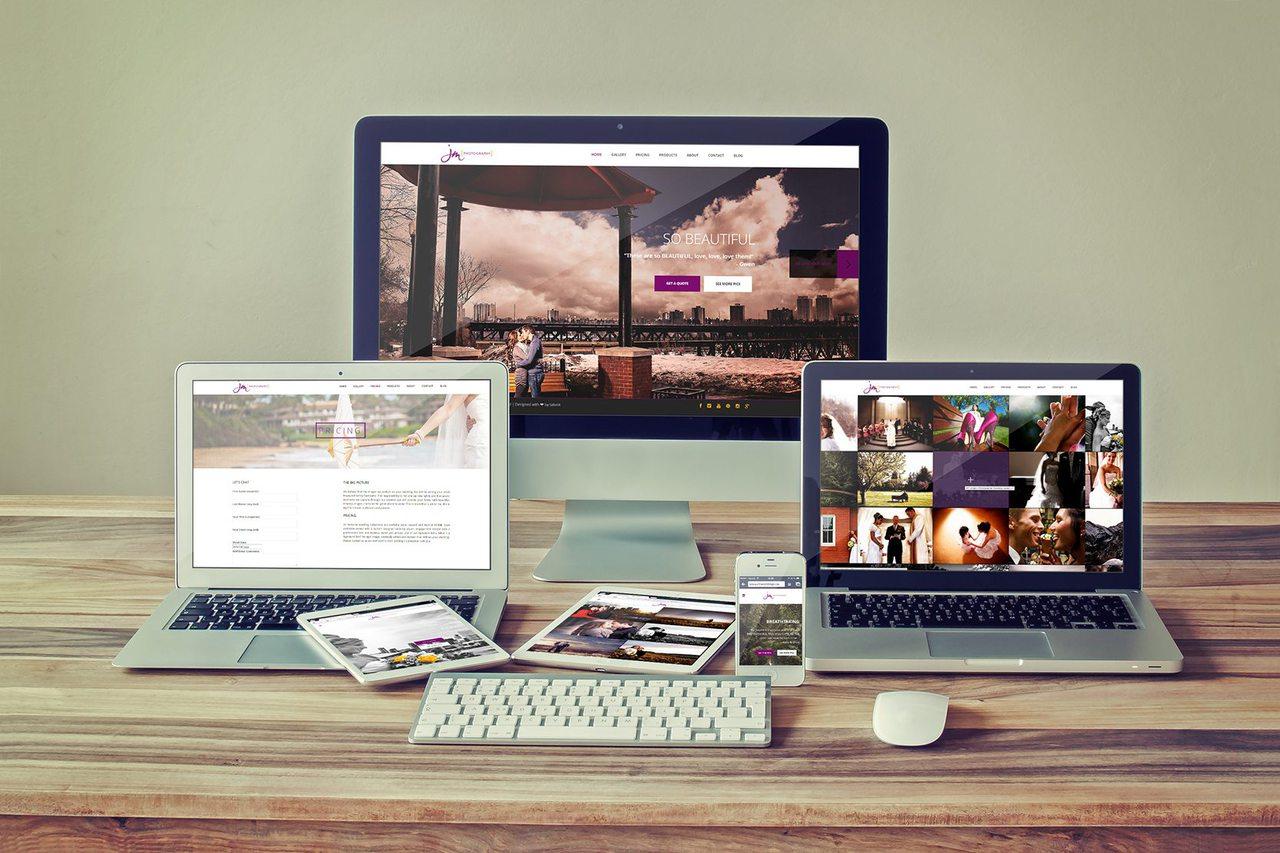 Web Design - JM Photography