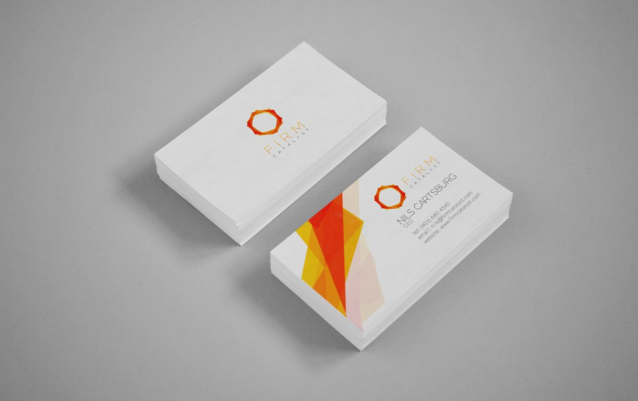Firm Catalyst - Business Card Design