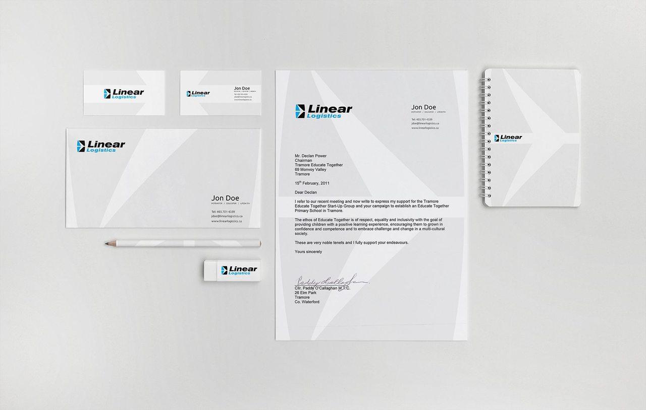 Linear Logistics - Calgary Branding