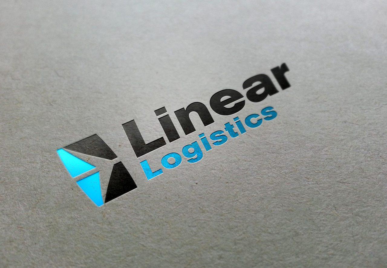Linear Logistics - Calgary Logo Design