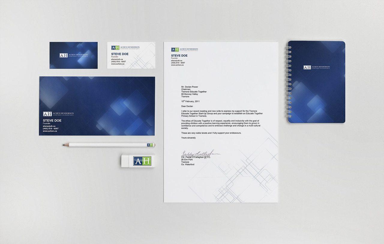 Achen Henderson Branding Design