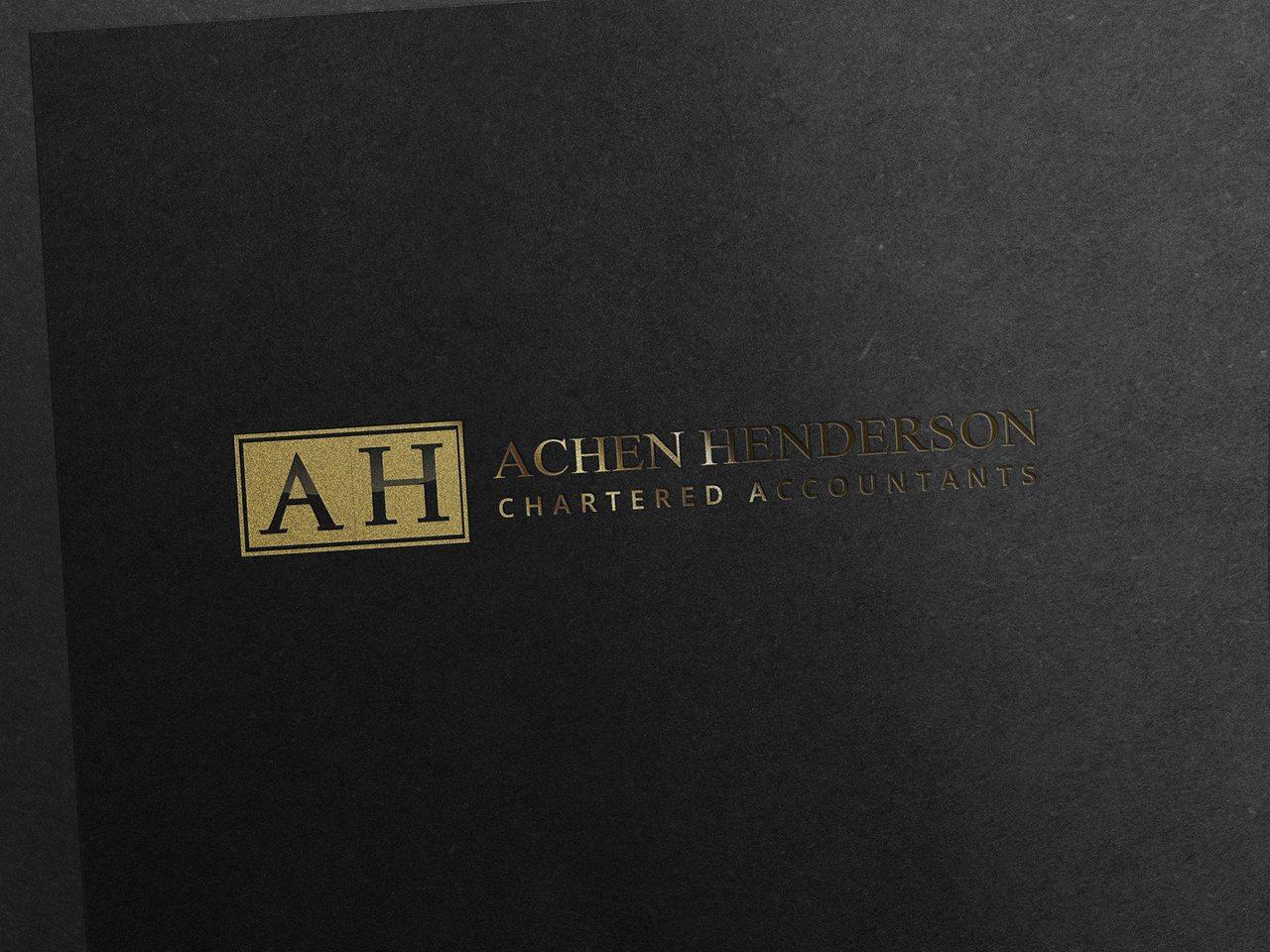 Achen Henderson Logo Design