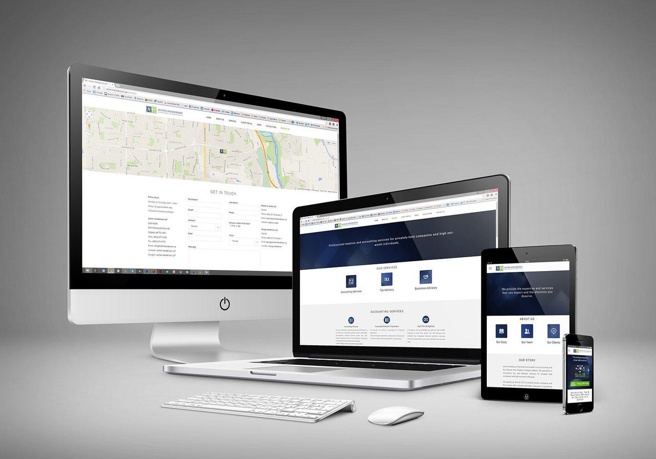 Achen Henderson Web Design Calgary