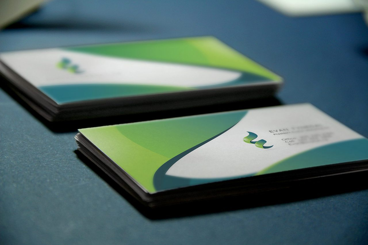 Evaton Marketing Business Card Design