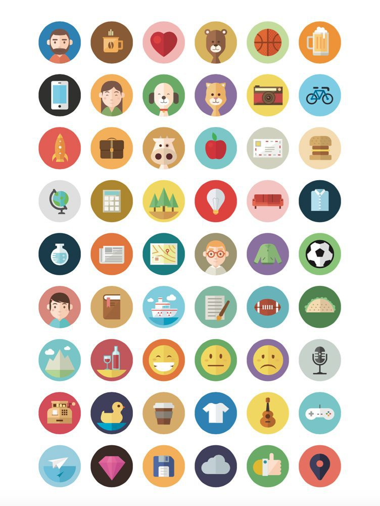 Flat-Icon-Graphic-Design