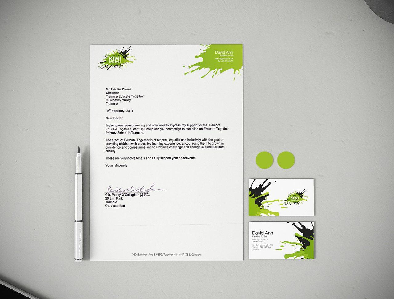 Kiwi Marketing Calgary Print Branding
