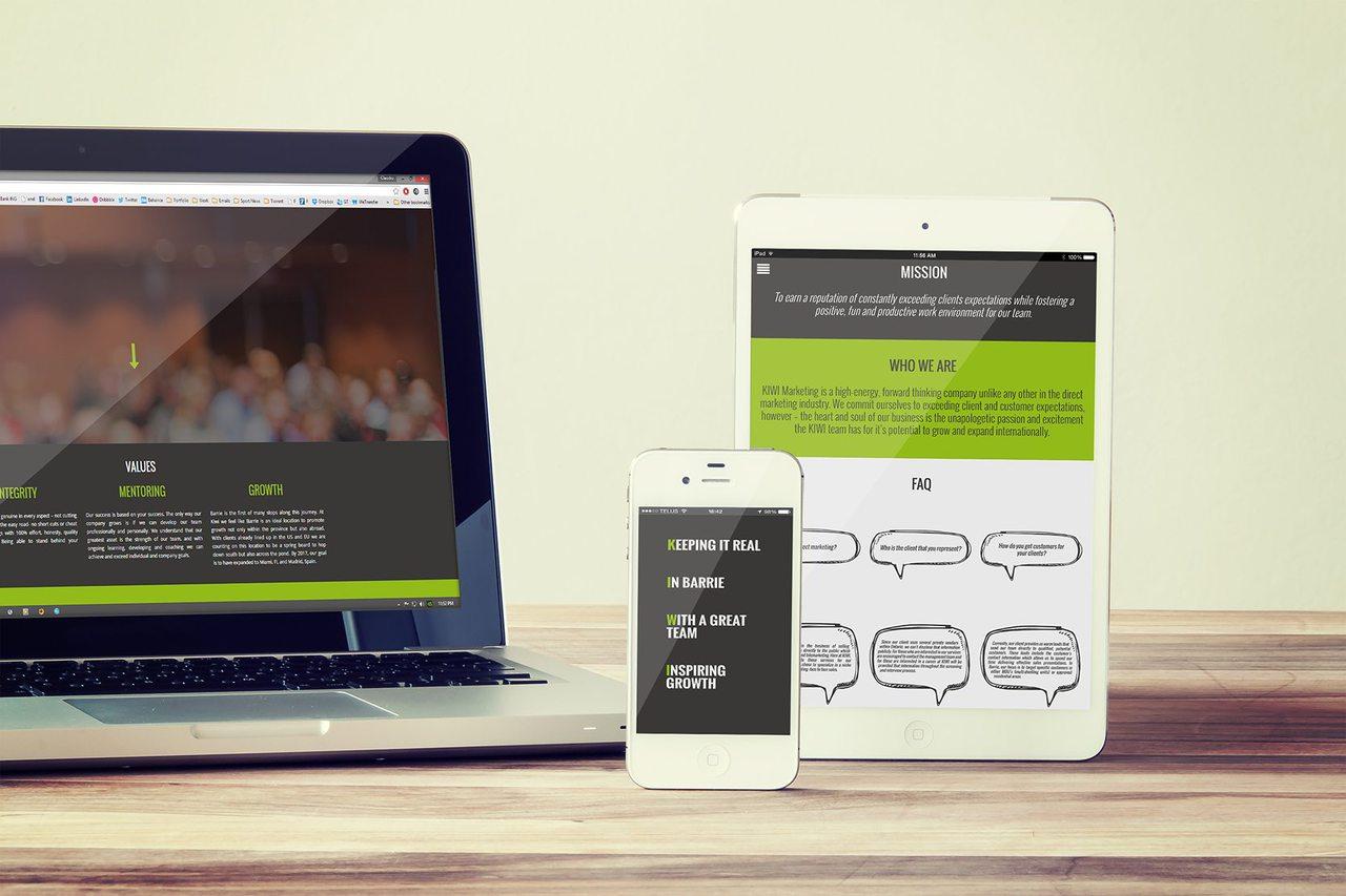 Kiwi Marketing Web Design