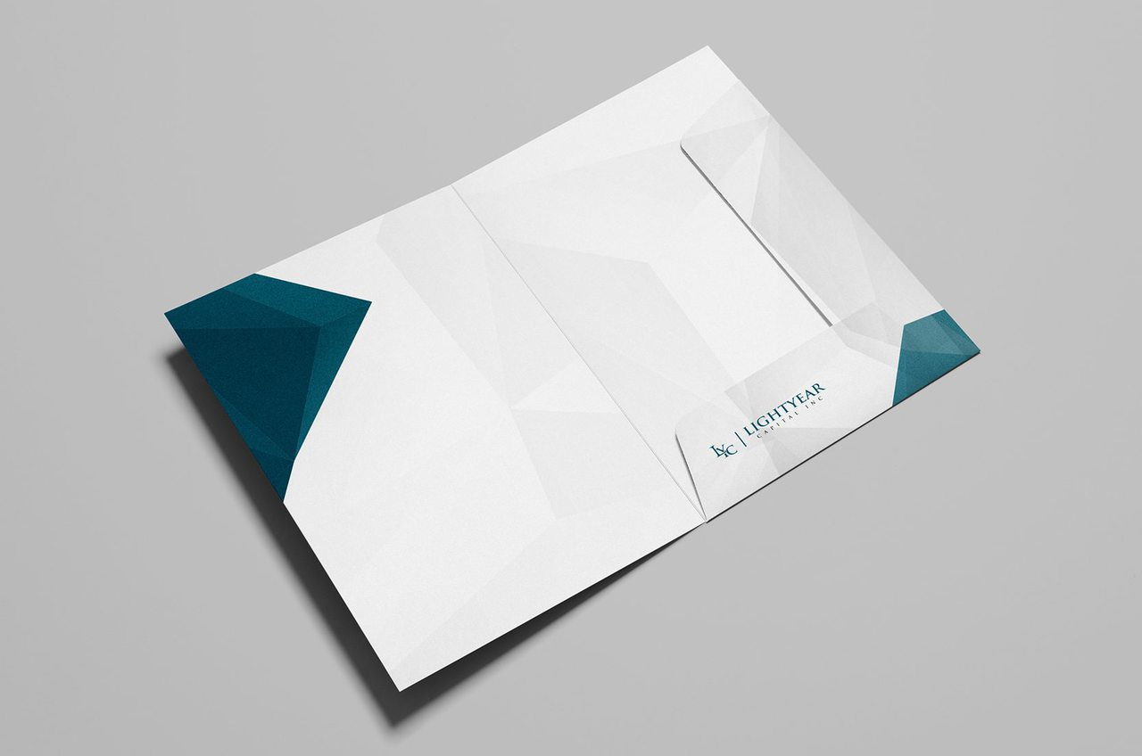Lightyear Capital Calgary Folder Design