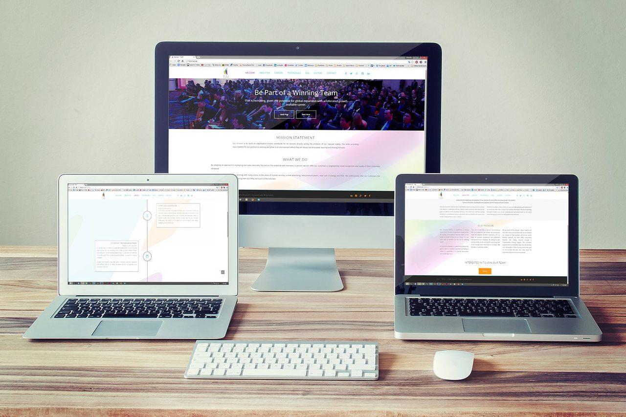 TSM Calgary Web Design