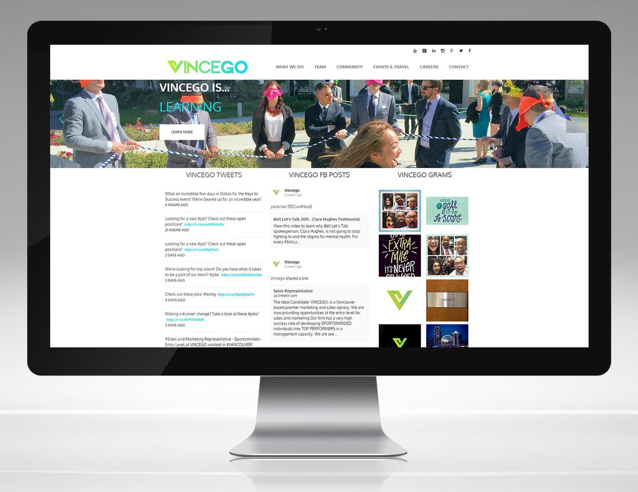Vincego Web Design