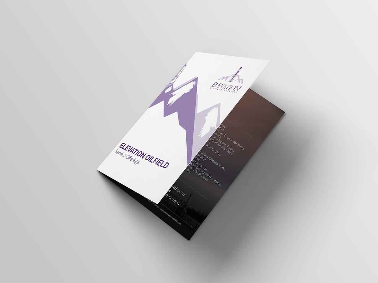 Elevation Oilfield Brochure Design