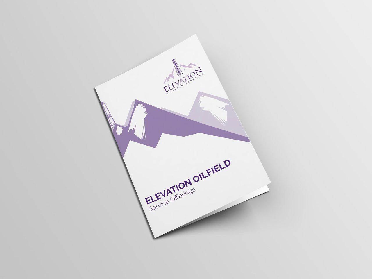 Elevation Oilfield Calgary Brochure Design