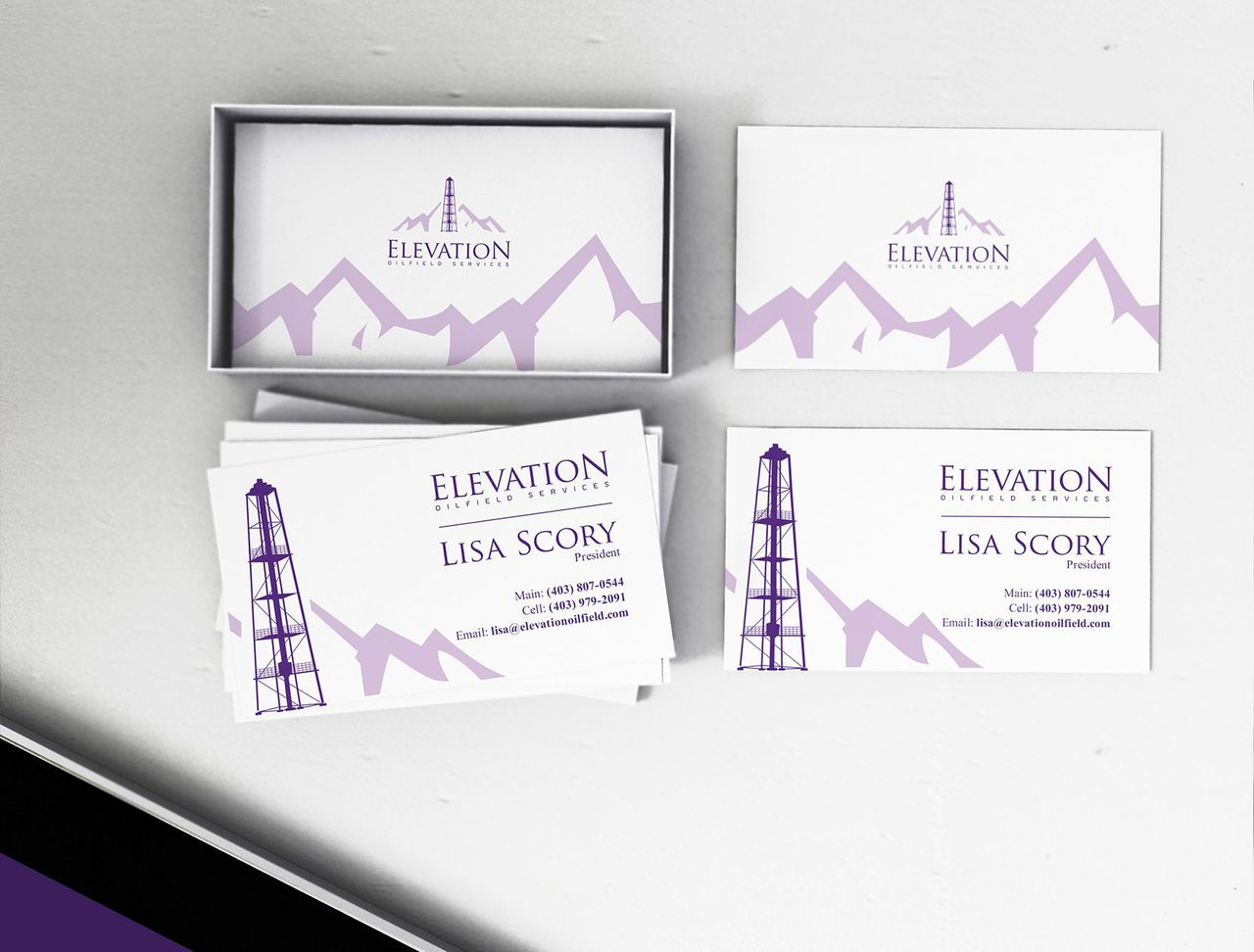 Elevation Oilfield Graphic Design