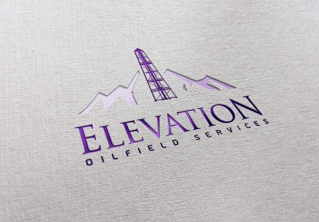 Elevation Oilfield Logo Design