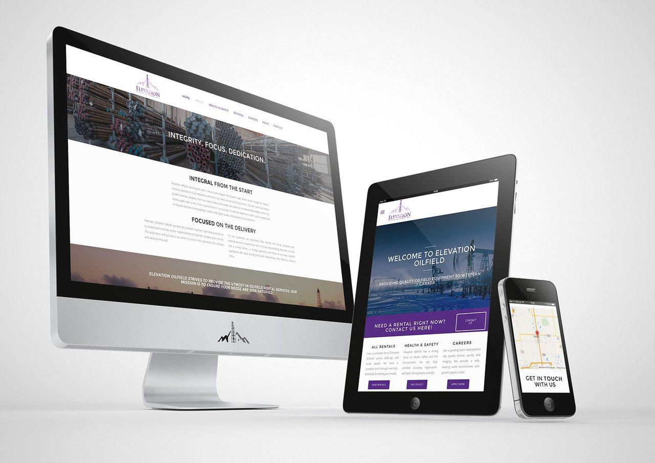 Elevation Oilfield Web Design Calgary