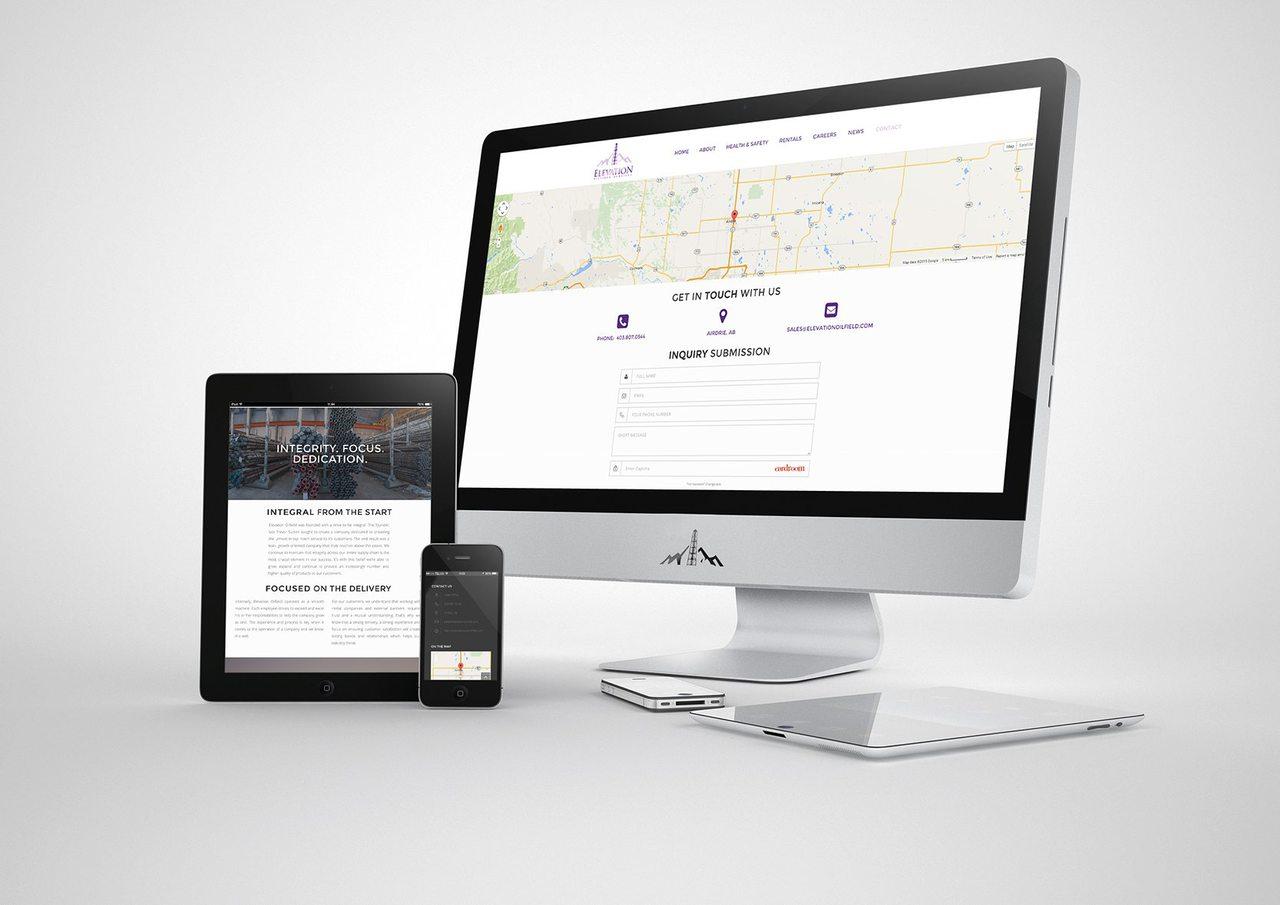 Elevation Oilfield Web Design