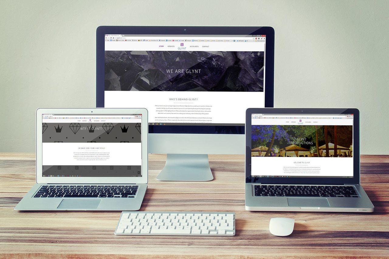 Glynt Productions Calgary Web Design