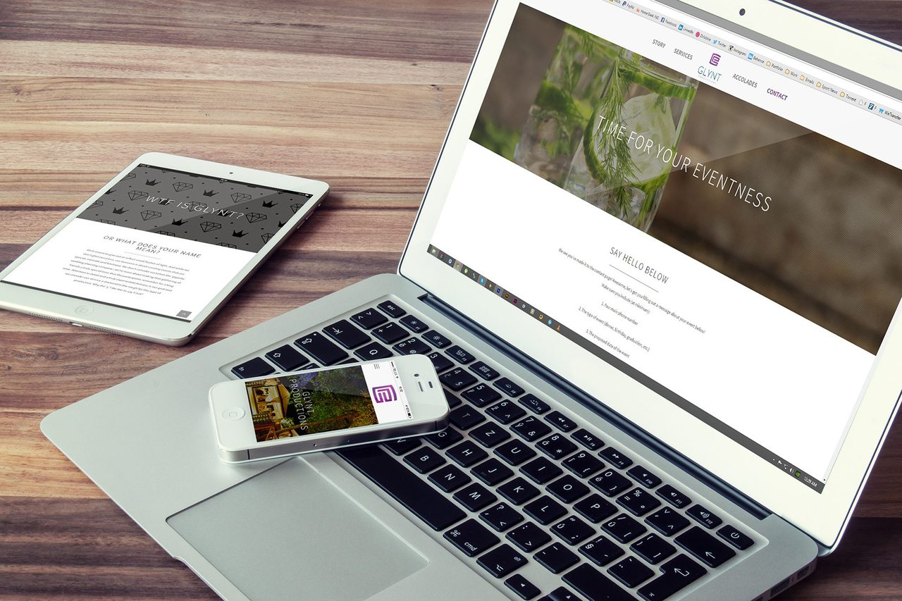 Glynt Productions Web Design Calgary