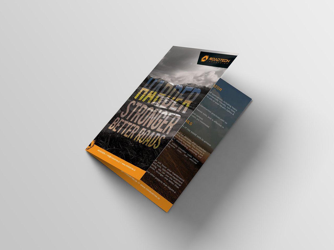 RoadTech Brochure Design