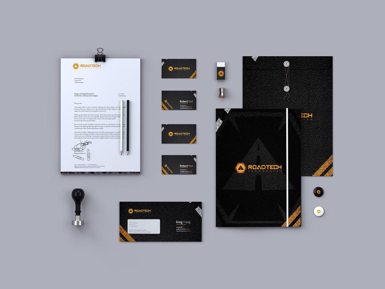 RoadTech Calgary Branding Design