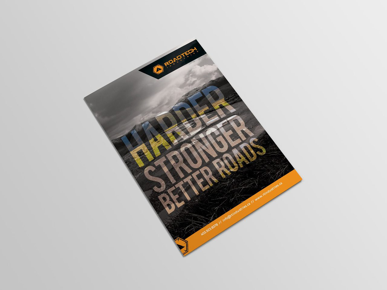RoadTech Calgary Brochure Design