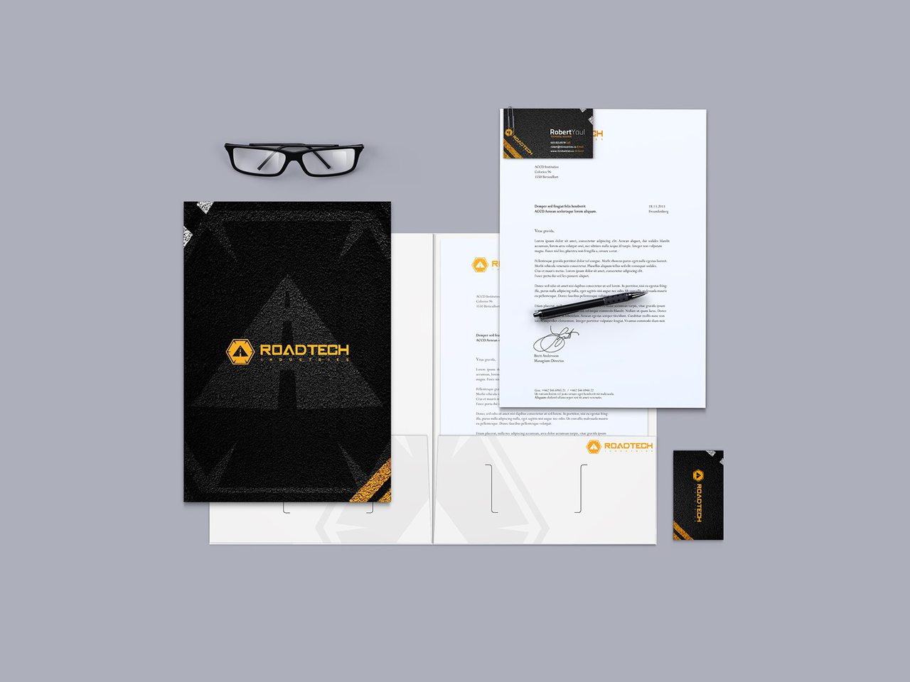 RoadTech Calgary Graphic Design