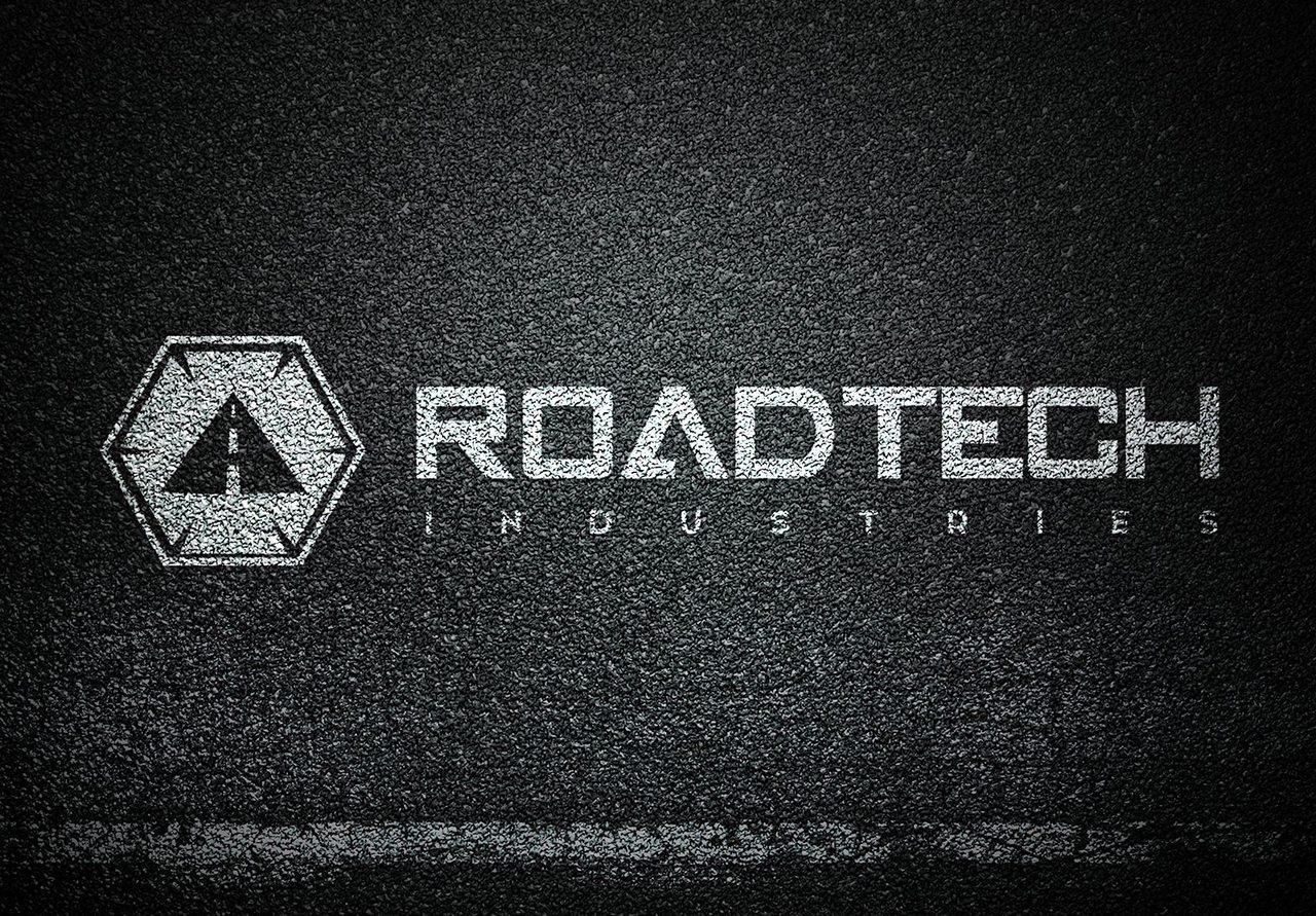 RoadTech Logo Design Splash